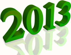Happynewyear2013greenisolatedwhitebackground
