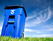 blue bin